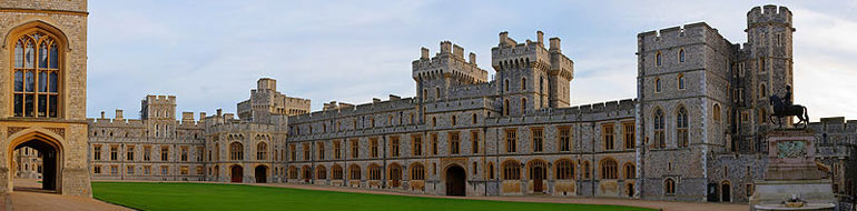 Windsor Castle Upper Ward Quadrangle